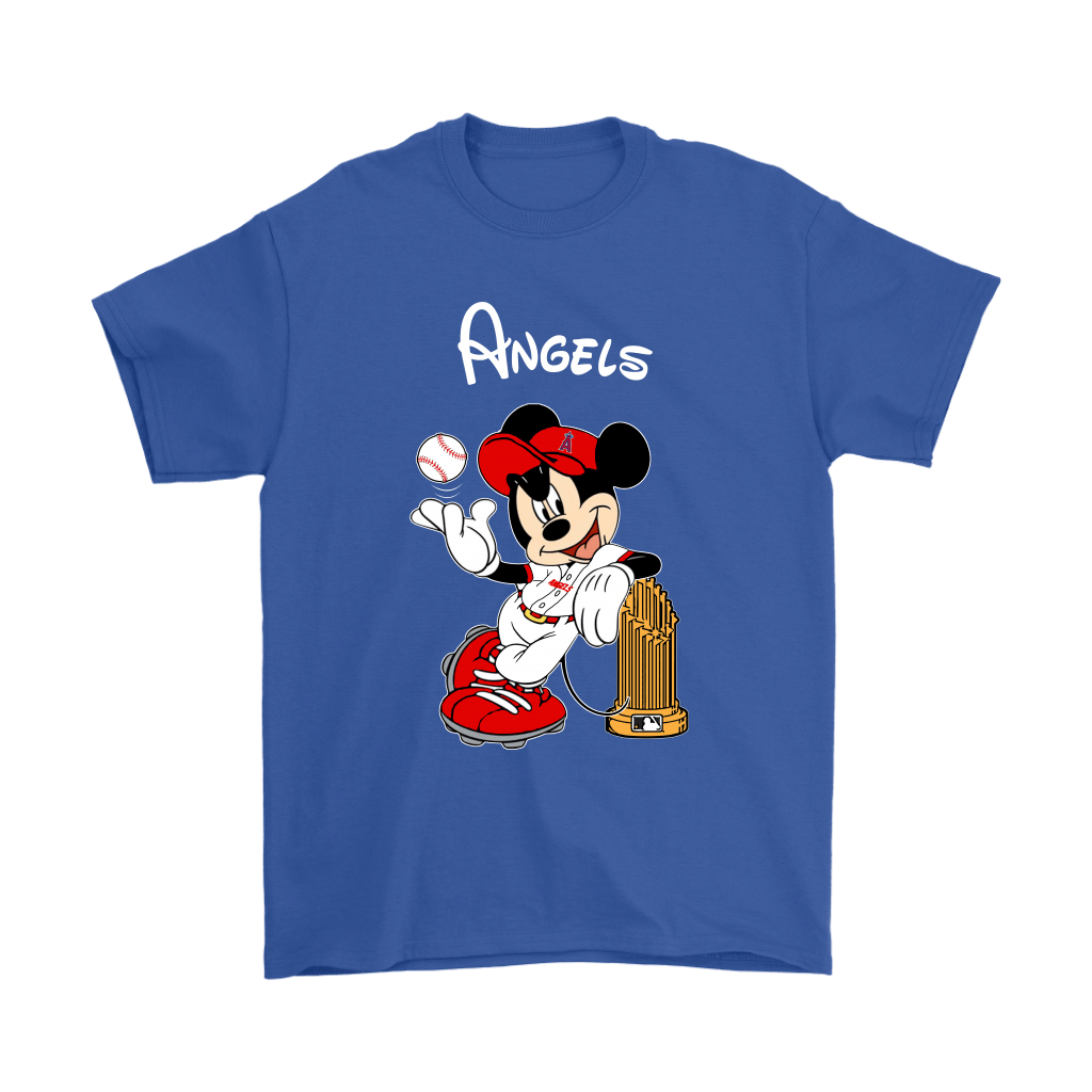 Los Angeles Angels Mickey Taking The Trophy MLB 2018 Shirts 6