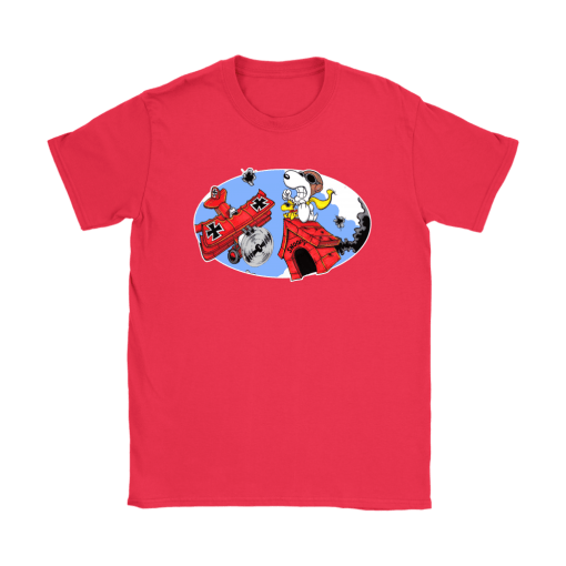 Battling The Red Baron Snoopy Shirts 12