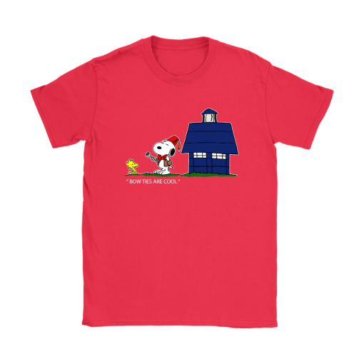 Bowties Are Cool Snoopy Shirts 12