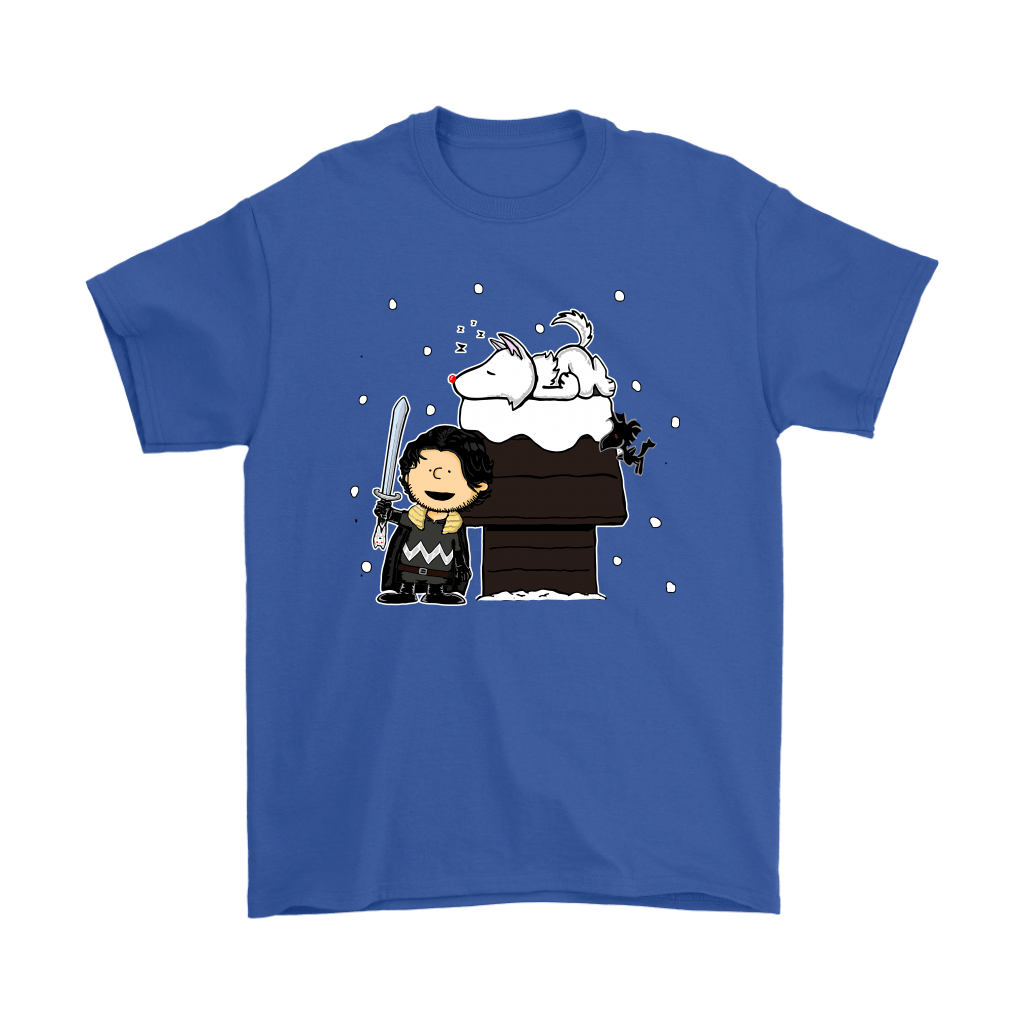 Charlie Snow Game Of Thrones Mashup Snoopy Shirts 5