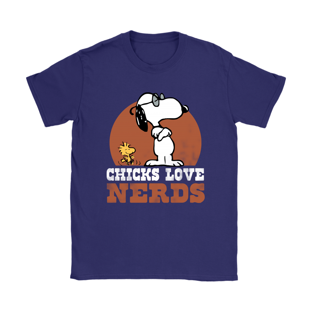Chicks Love Nerds Snoopy Shirts 10