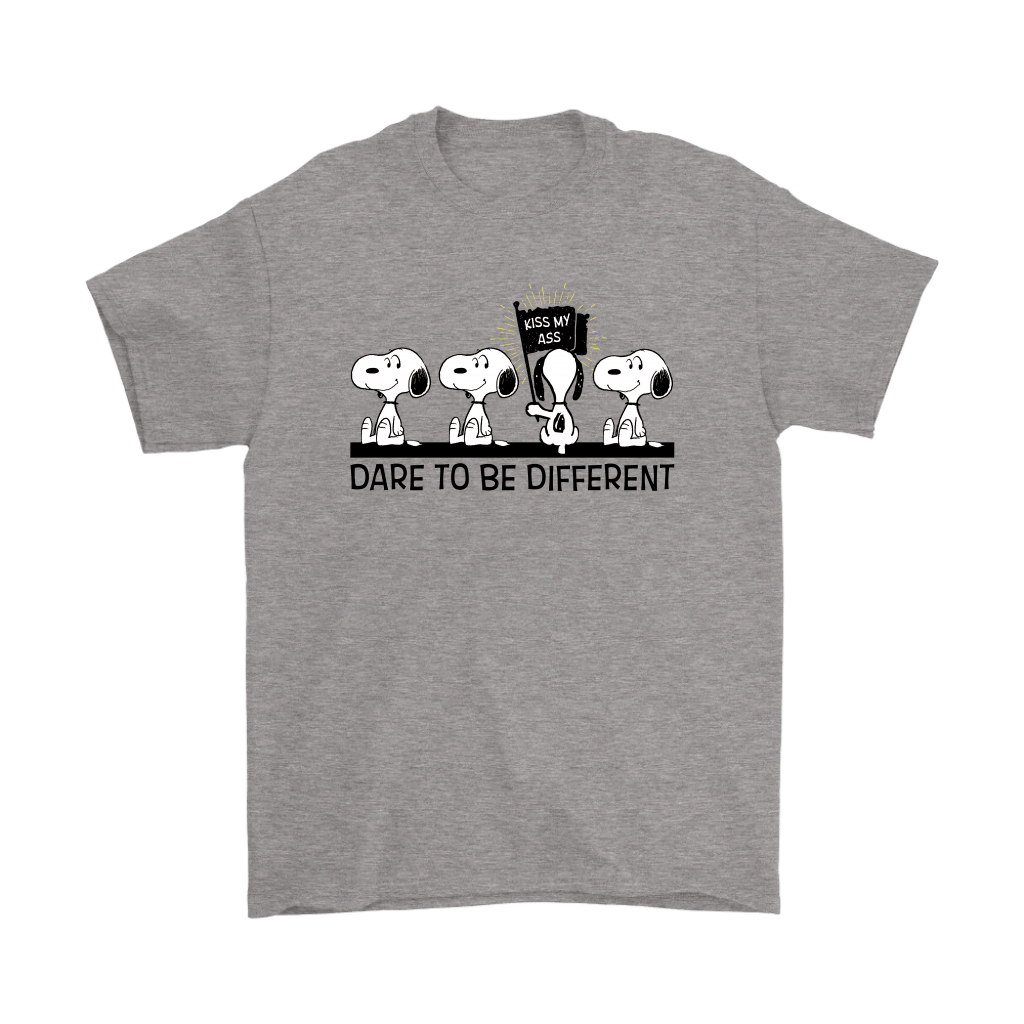 Dare To Be Different Kiss My Ass Snoopy Shirts 4