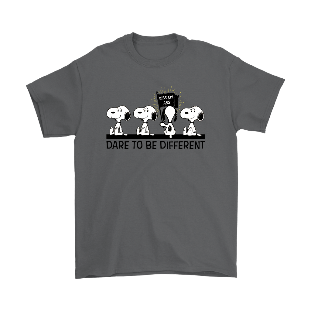 Dare To Be Different Kiss My Ass Snoopy Shirts 1