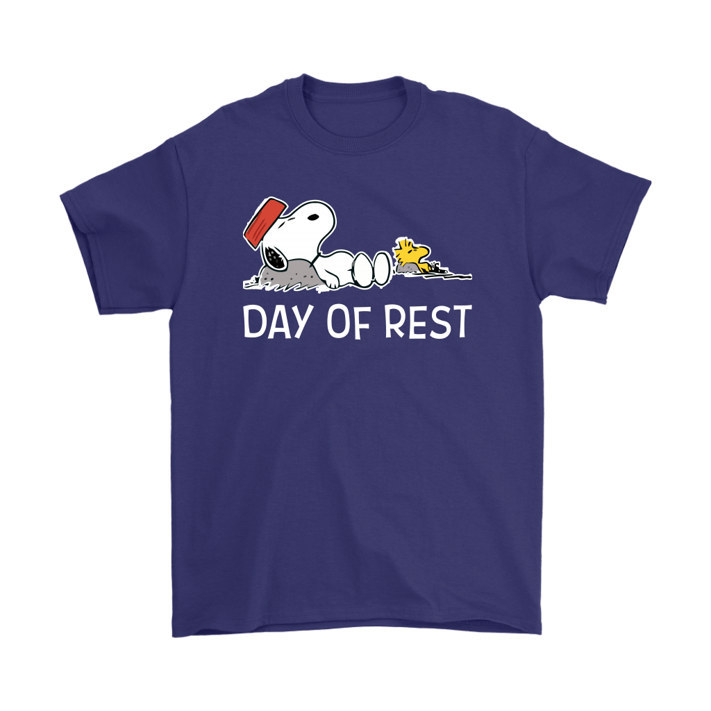 Day Of Rest Lazy Woodstock And Snoopy Shirts 4