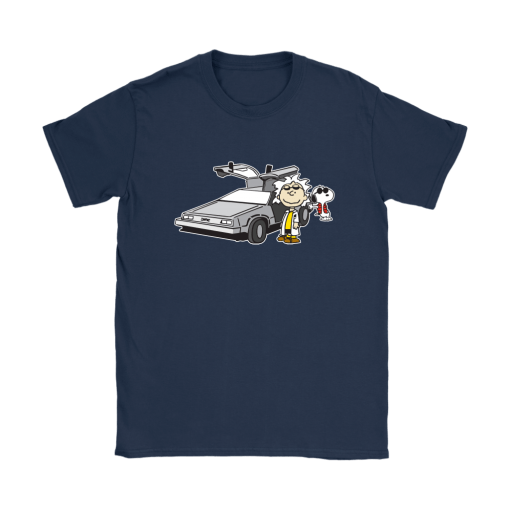 Doc Brown Back To Future Mashup Snoopy Shirts 10