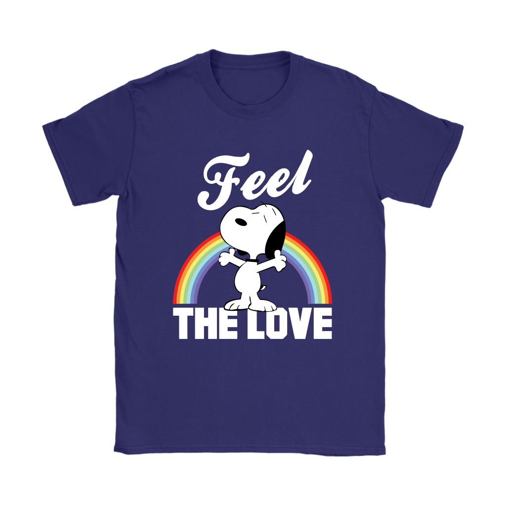 Feel The Love Snoopy Shirts 11