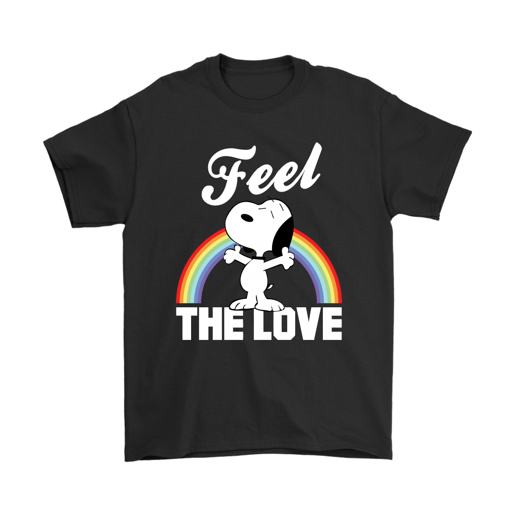 Feel The Love Snoopy Shirts 1