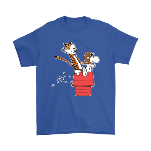 Flying Ace Hobbes And Snoopy Shirts 5