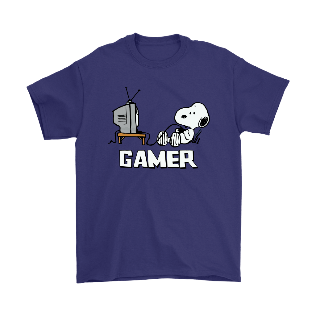 Gamer Life Snoopy Shirts 4