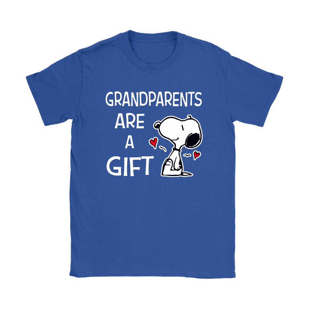 Grandparents Are A Gift Snoopy Shirts 12