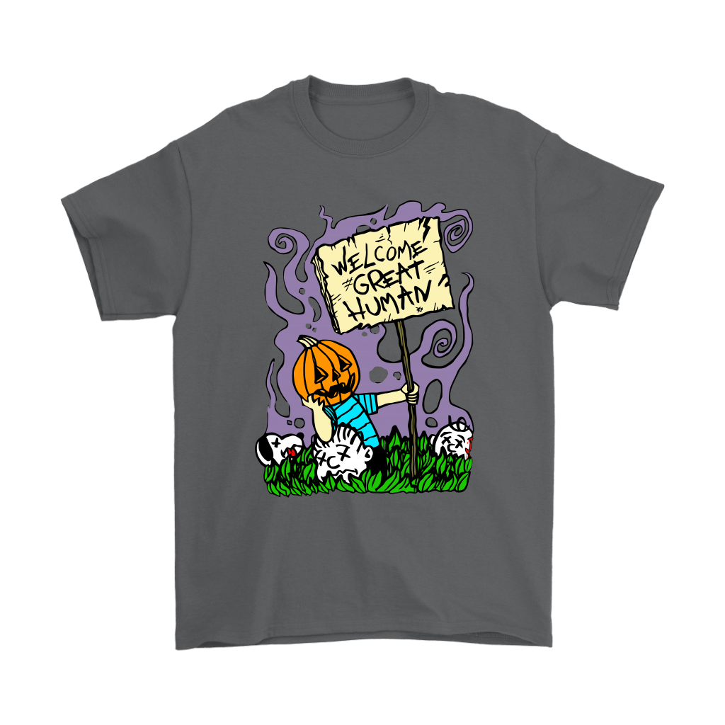 Great Pumpkin Massacre Welcome Great Human Halloween Snoopy Shirts 2