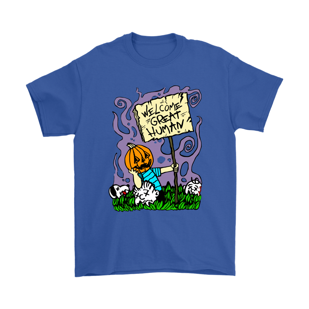Great Pumpkin Massacre Welcome Great Human Halloween Snoopy Shirts 5