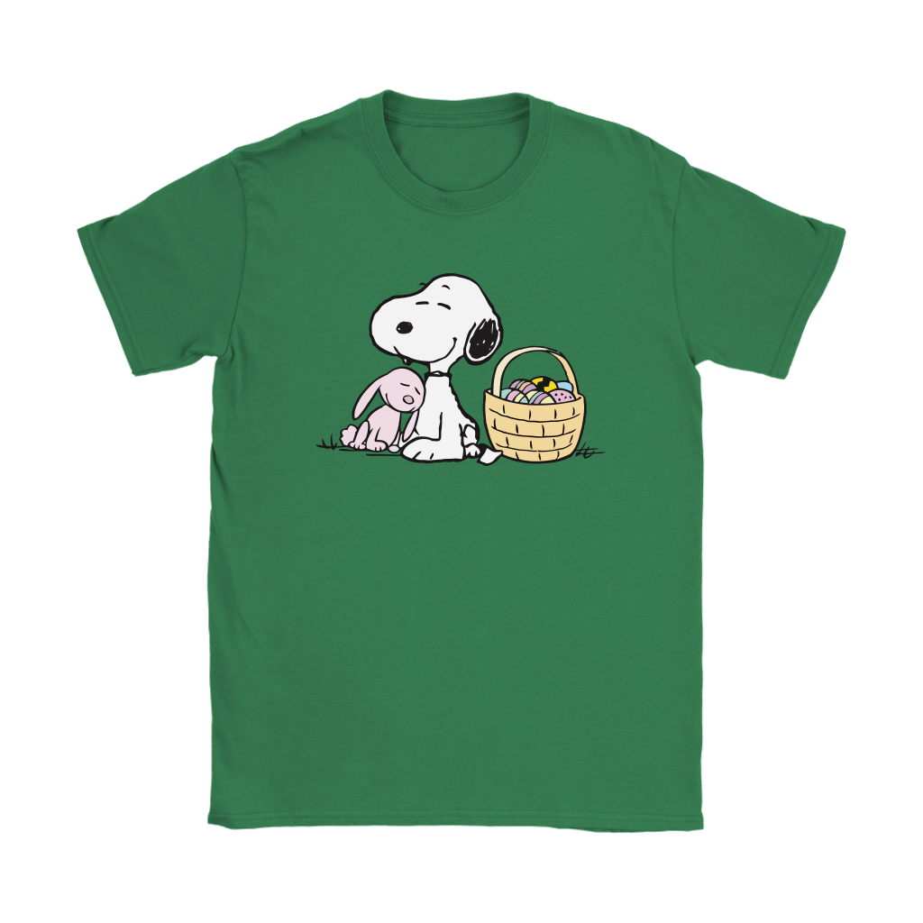 Happy Easter Beagle And Bunny Snoopy Shirts 14