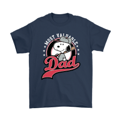 Happy Father's Day Most Valuable Dad Snoopy Shirts 16