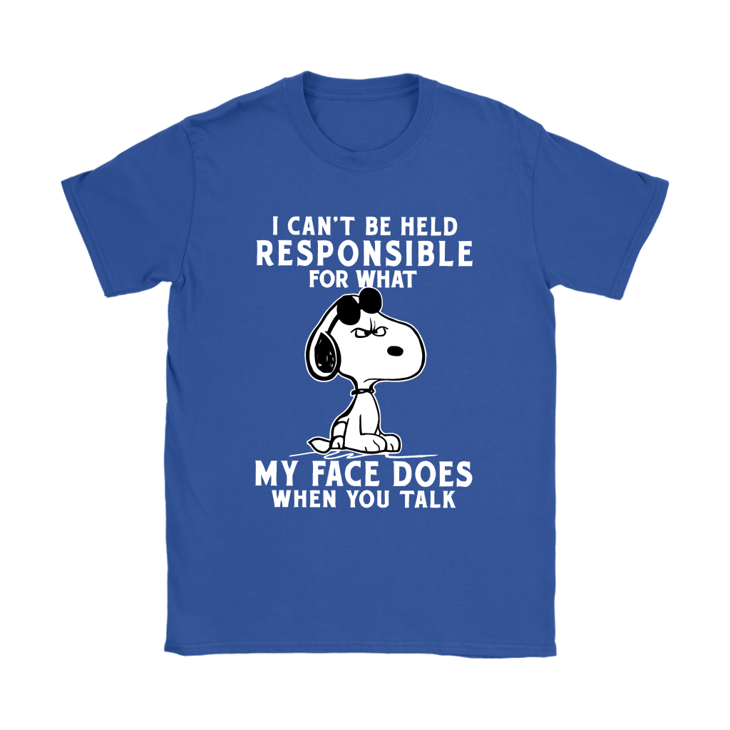 I Can't Be Help Responsible For What Grumpy Snoopy Shirts 12