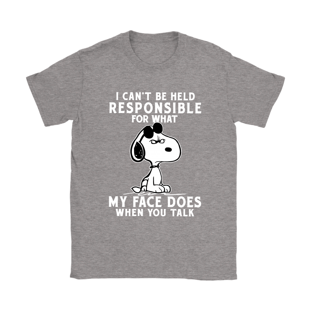 I Can't Be Help Responsible For What Grumpy Snoopy Shirts 13