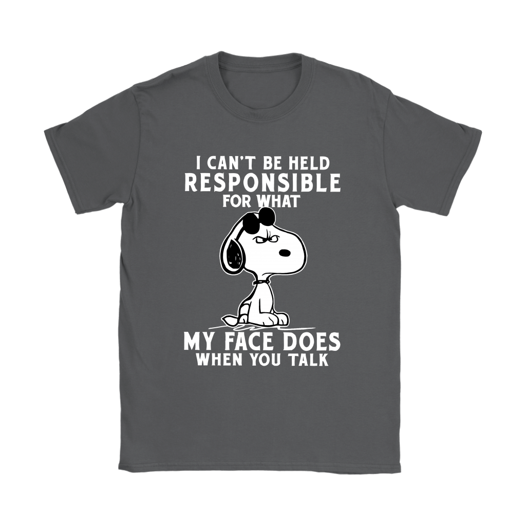 I Can't Be Help Responsible For What Grumpy Snoopy Shirts 9