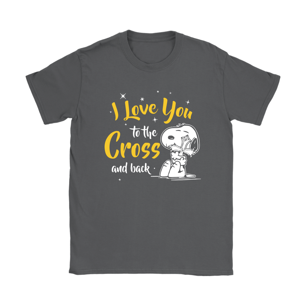 I Love You To The Cross And Back Snoopy Shirts 8