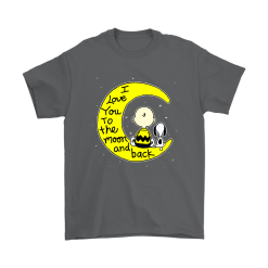 I Love You To The Moon And Back Charlie Brown And Snoopy Shirts 13