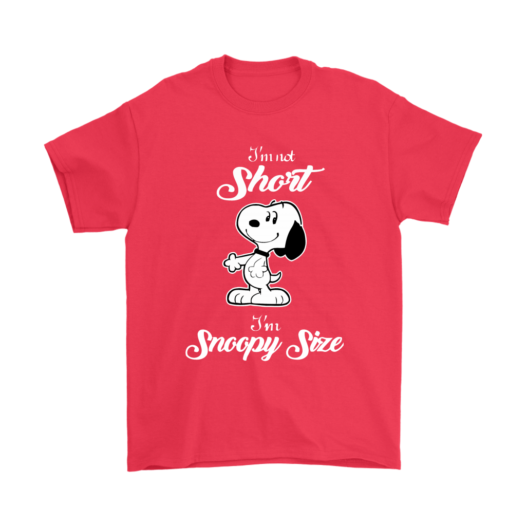 I'm Not Short I'm Size Snoopy 5
