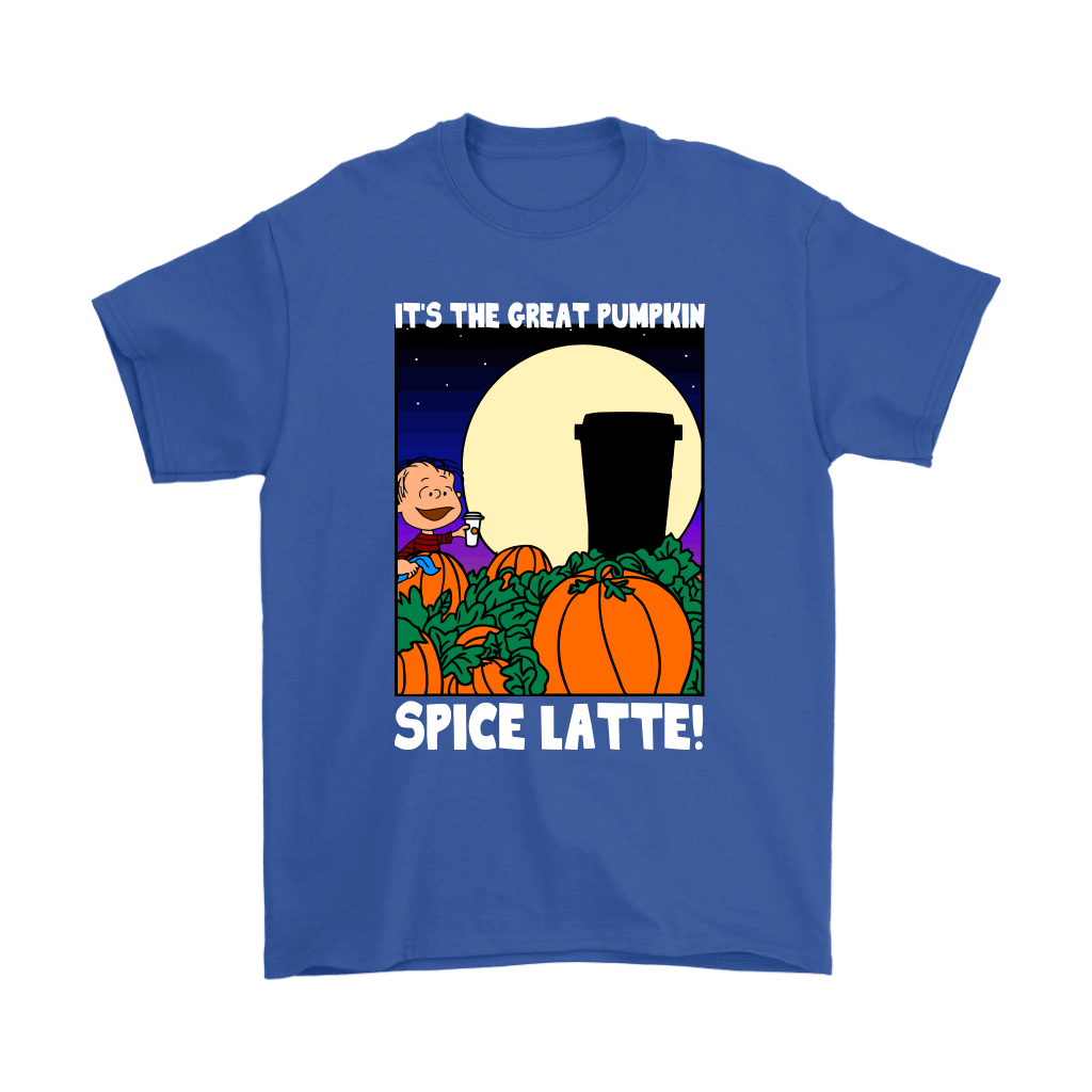 It's The Great Pumpkin Spice Latte Happy Halloween Snoopy Shirts 6