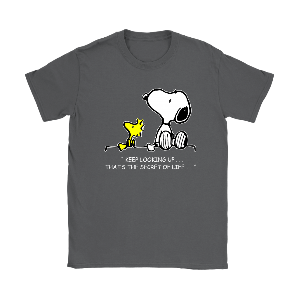 Keep Looking Up Thats The Secret Of Life Snoopy Shirts 9