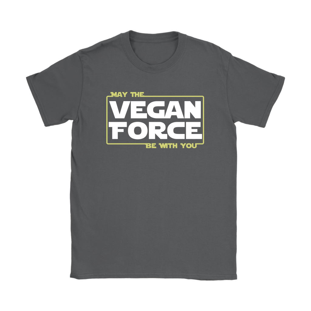 May The Vegan Force Be With You Star Wars Shirts 9