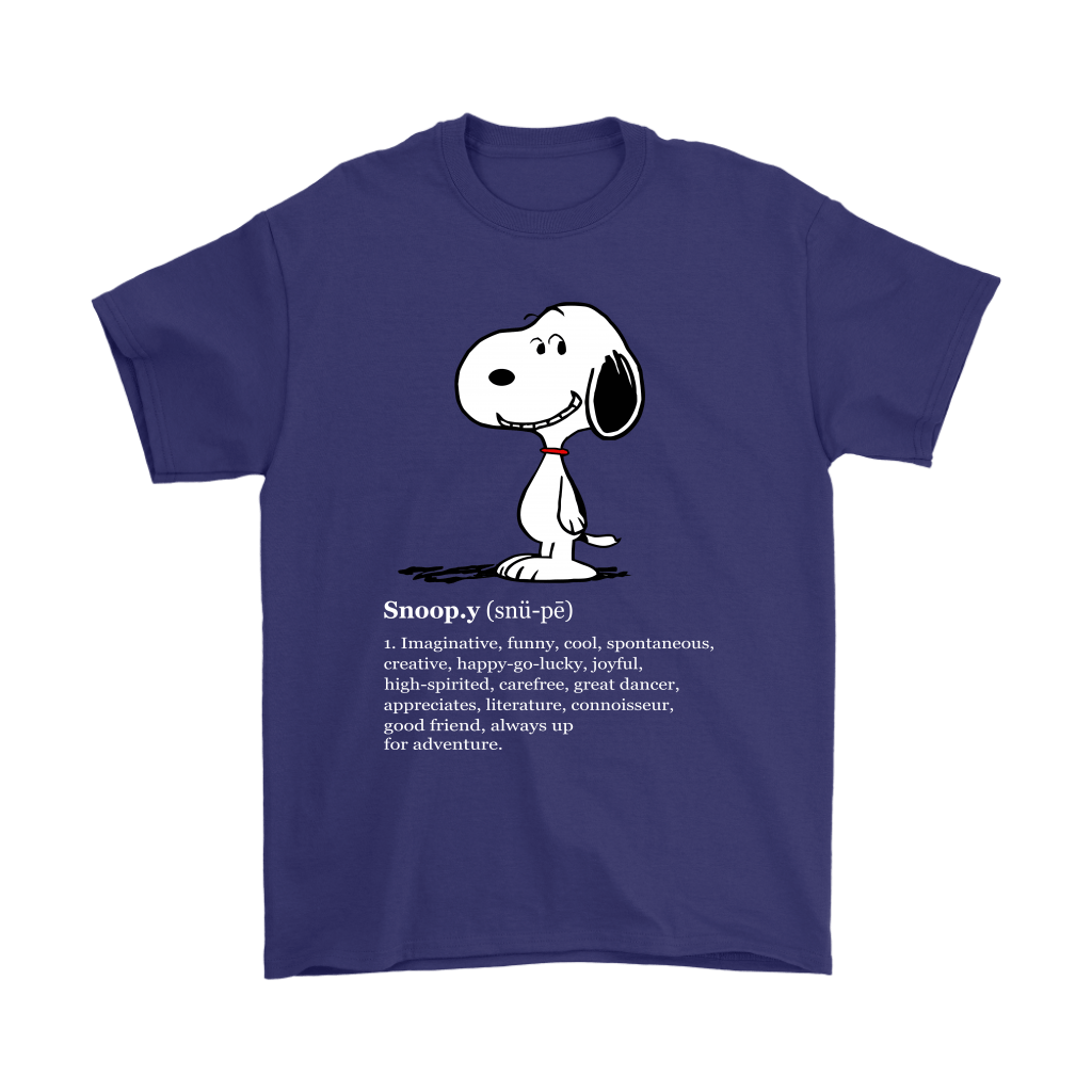 Meaning Funny Definition Snoopy Shirts 4