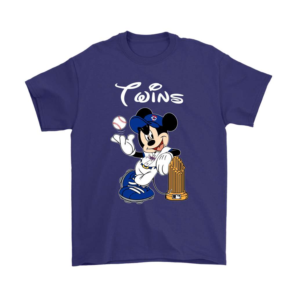 Minnesota Twins Mickey Taking The Trophy MLB 2018 Shirts 4