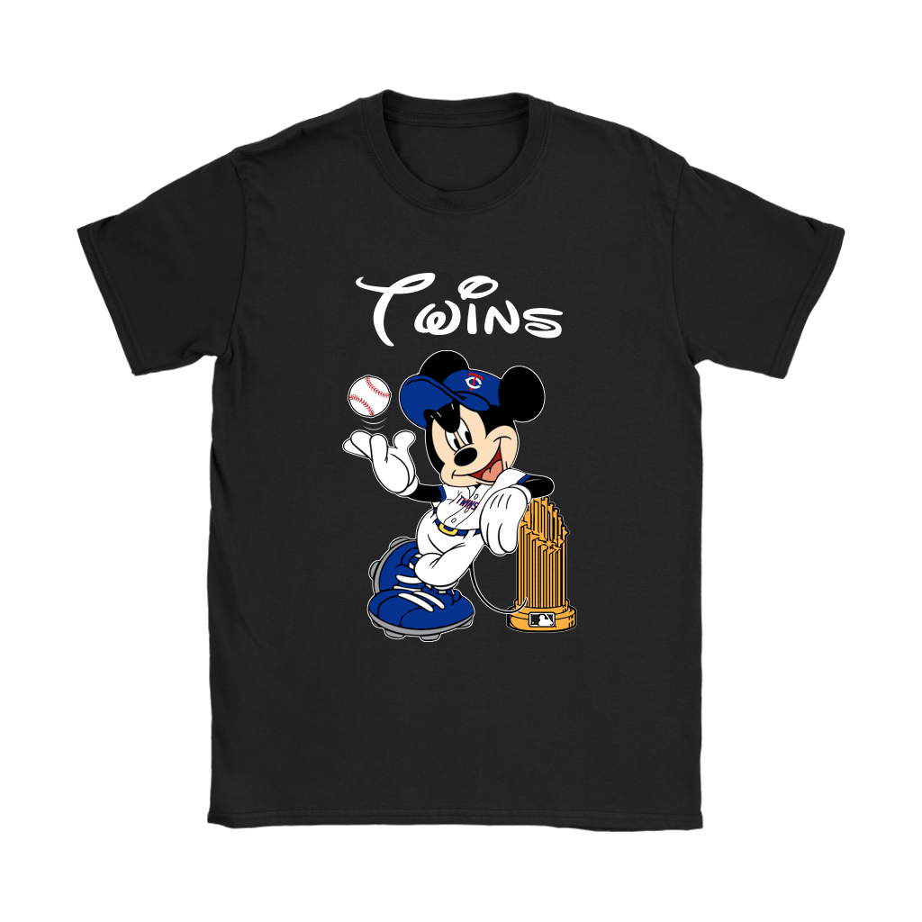 Minnesota Twins Mickey Taking The Trophy MLB 2018 Shirts 8
