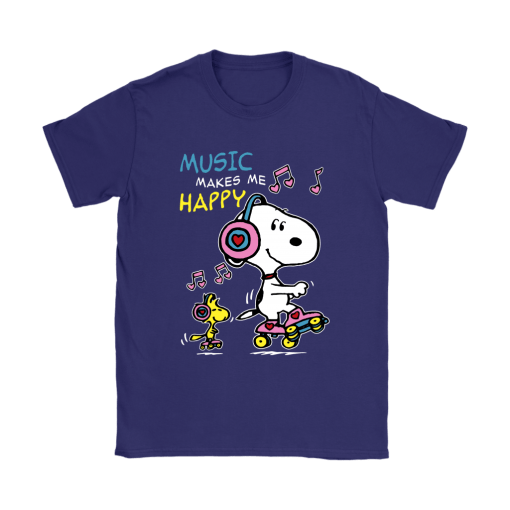 Music Make Me Happy Snoopy Shirts 11