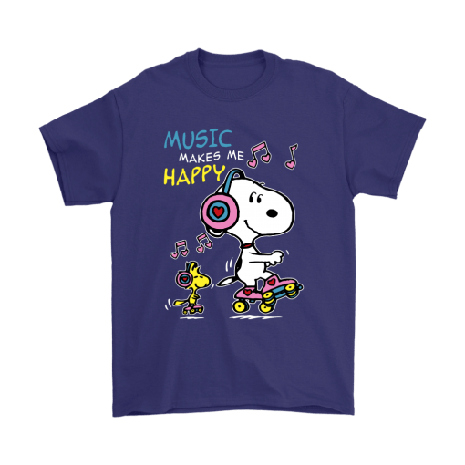Music Make Me Happy Snoopy Shirts 4
