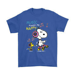 Music Make Me Happy Snoopy Shirts 18
