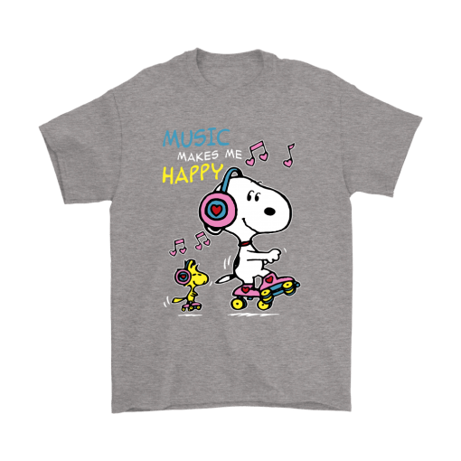 Music Make Me Happy Snoopy Shirts 6