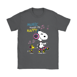 Music Make Me Happy Snoopy Shirts 22