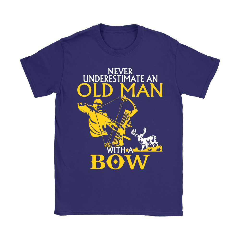 Never Underestimate An Old Man With A Bow Shirts 10