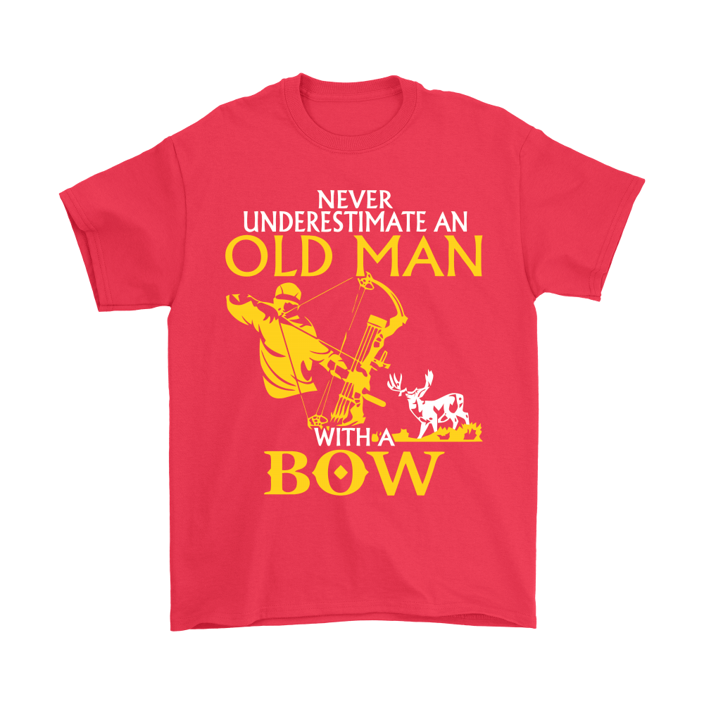 Never Underestimate An Old Man With A Bow Shirts 5