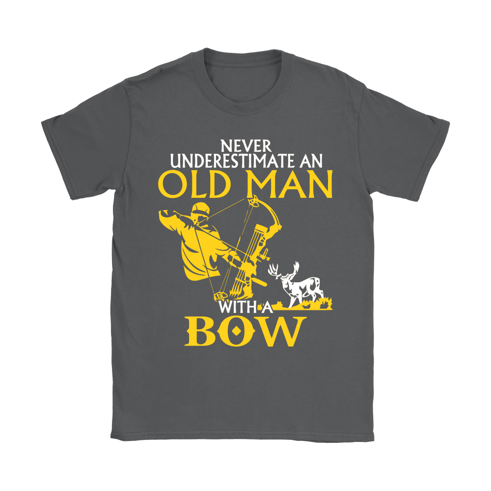 Never Underestimate An Old Man With A Bow Shirts 8