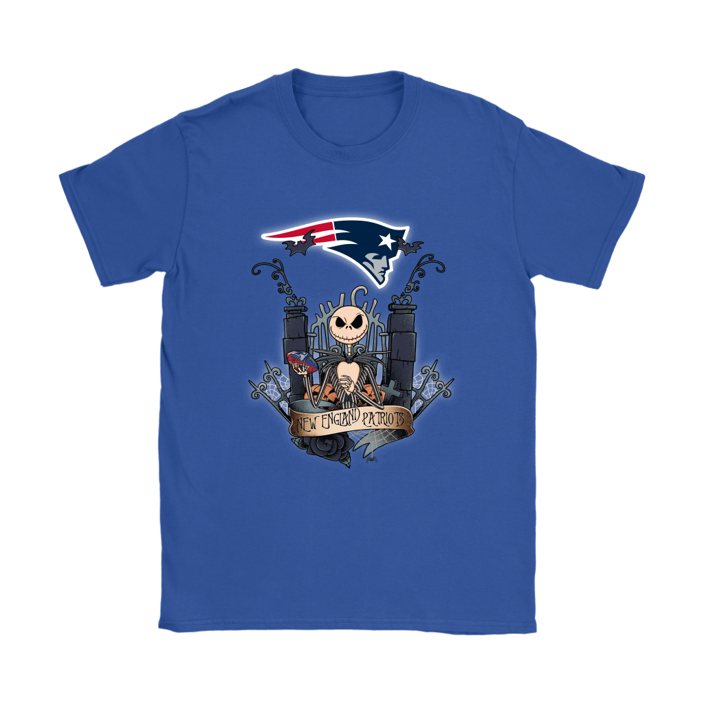 New England Patriots Jack Skellington This Is Halloween NFL Shirts 11