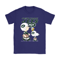New York Jets Let's Play Football Together Snoopy NFL Shirts 24
