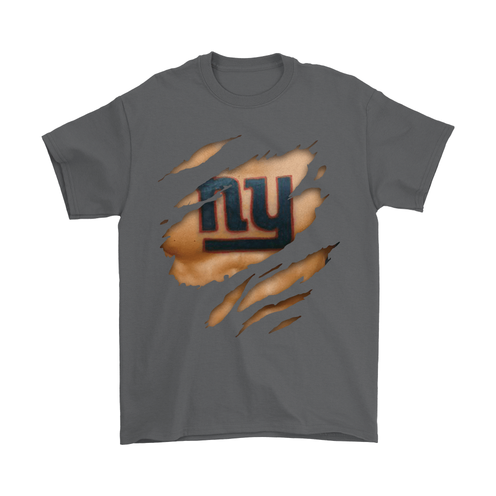 Nfl Football Logo 3d Art Chest New York Giants Tattoo Shirts