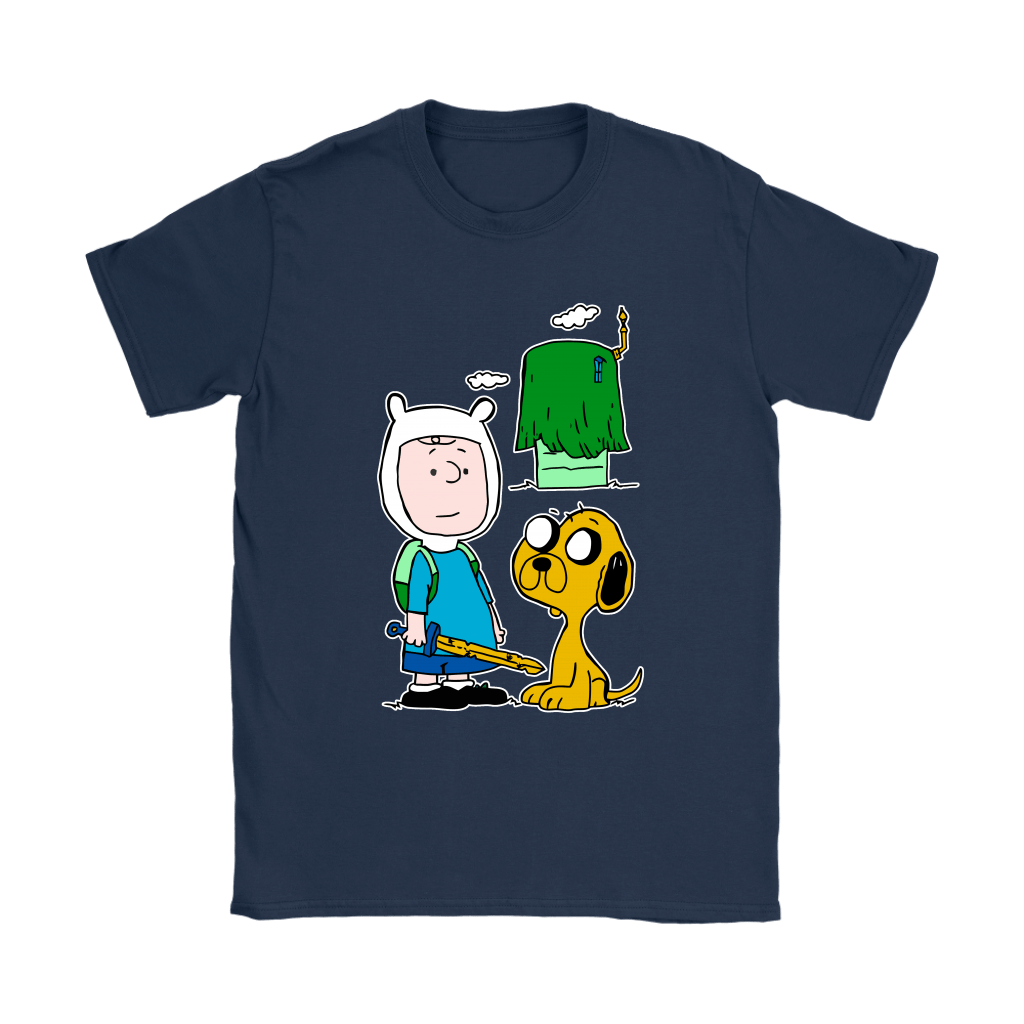 Peanuts Adventure Time Mashup Snoopy Shirts 10