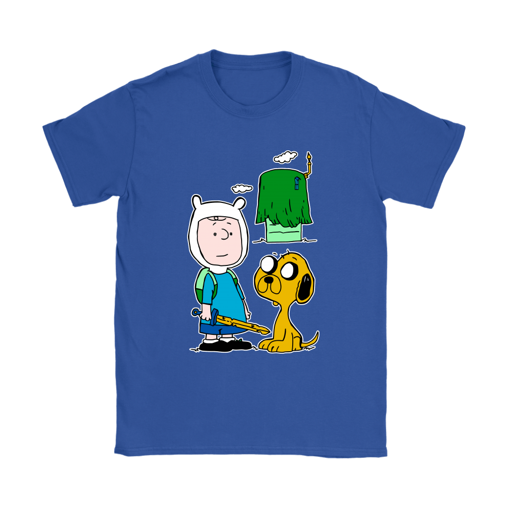 Peanuts Adventure Time Mashup Snoopy Shirts 13