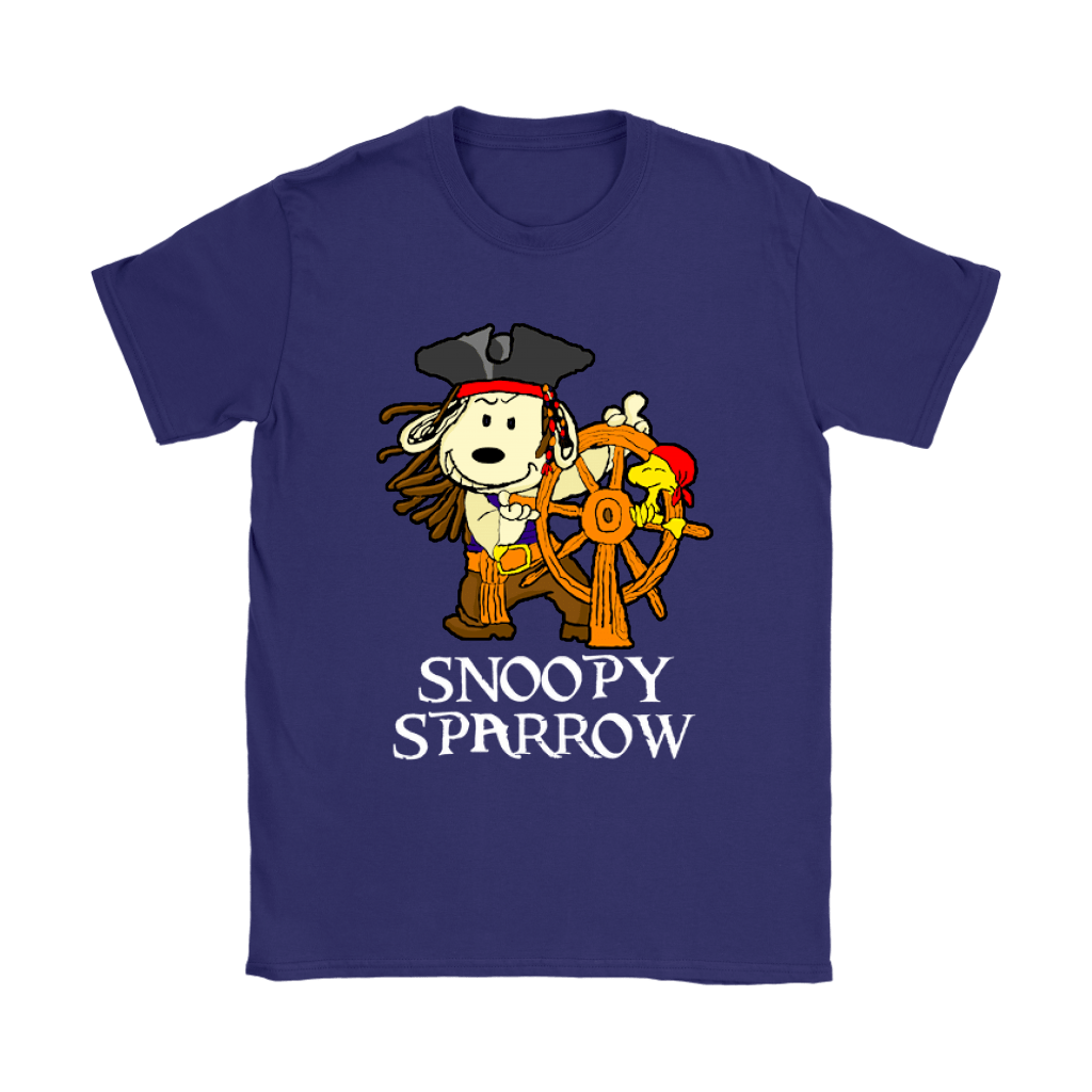 Pirates Of The Caribbean Captain Snoopy Sparrow Shirts 11