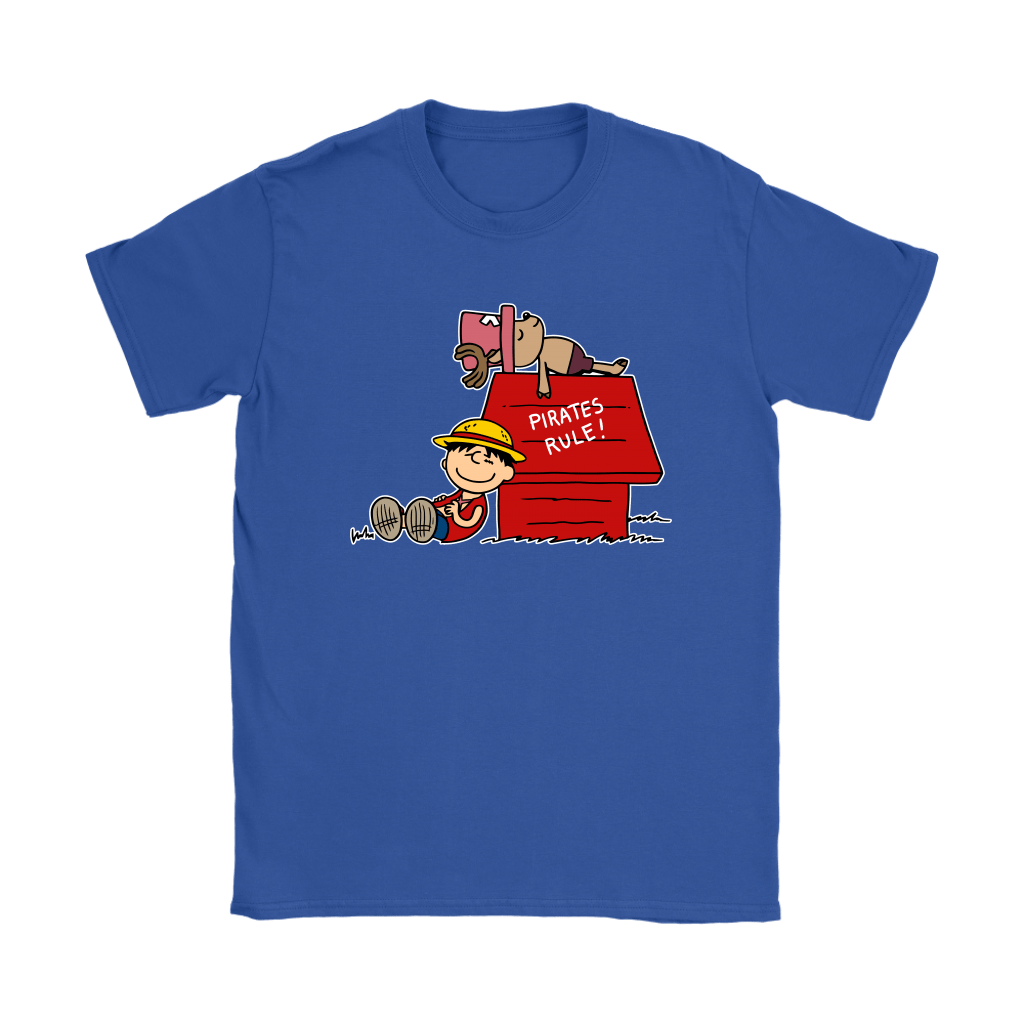 Pirates Rule One Piece Mashup Snoopy Shirts 12