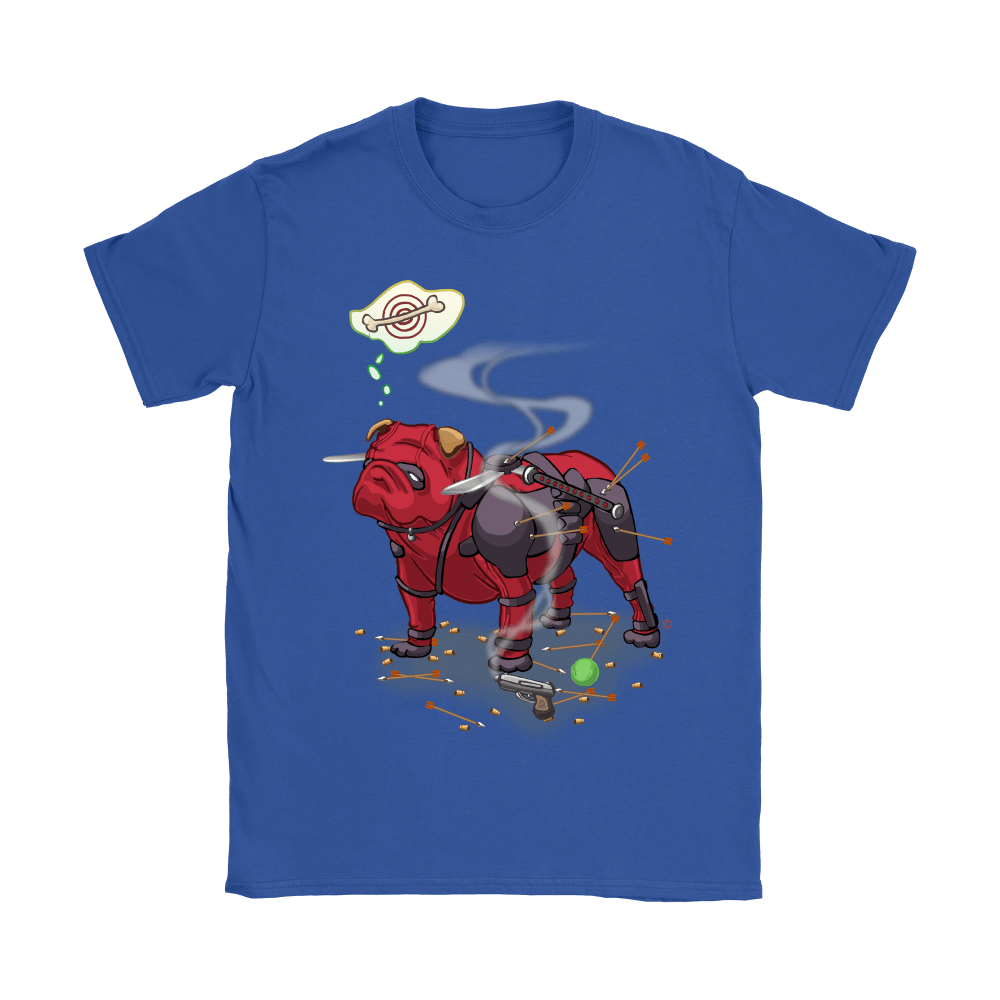 Pitbull Deadpool Target Dog Bone Shirts 10
