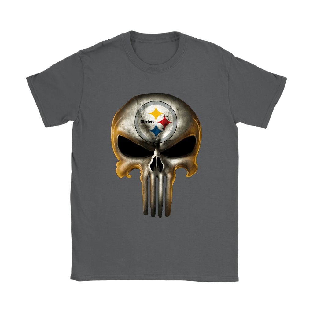 Pittsburgh Steelers The Punisher Mashup Football Shirts 9
