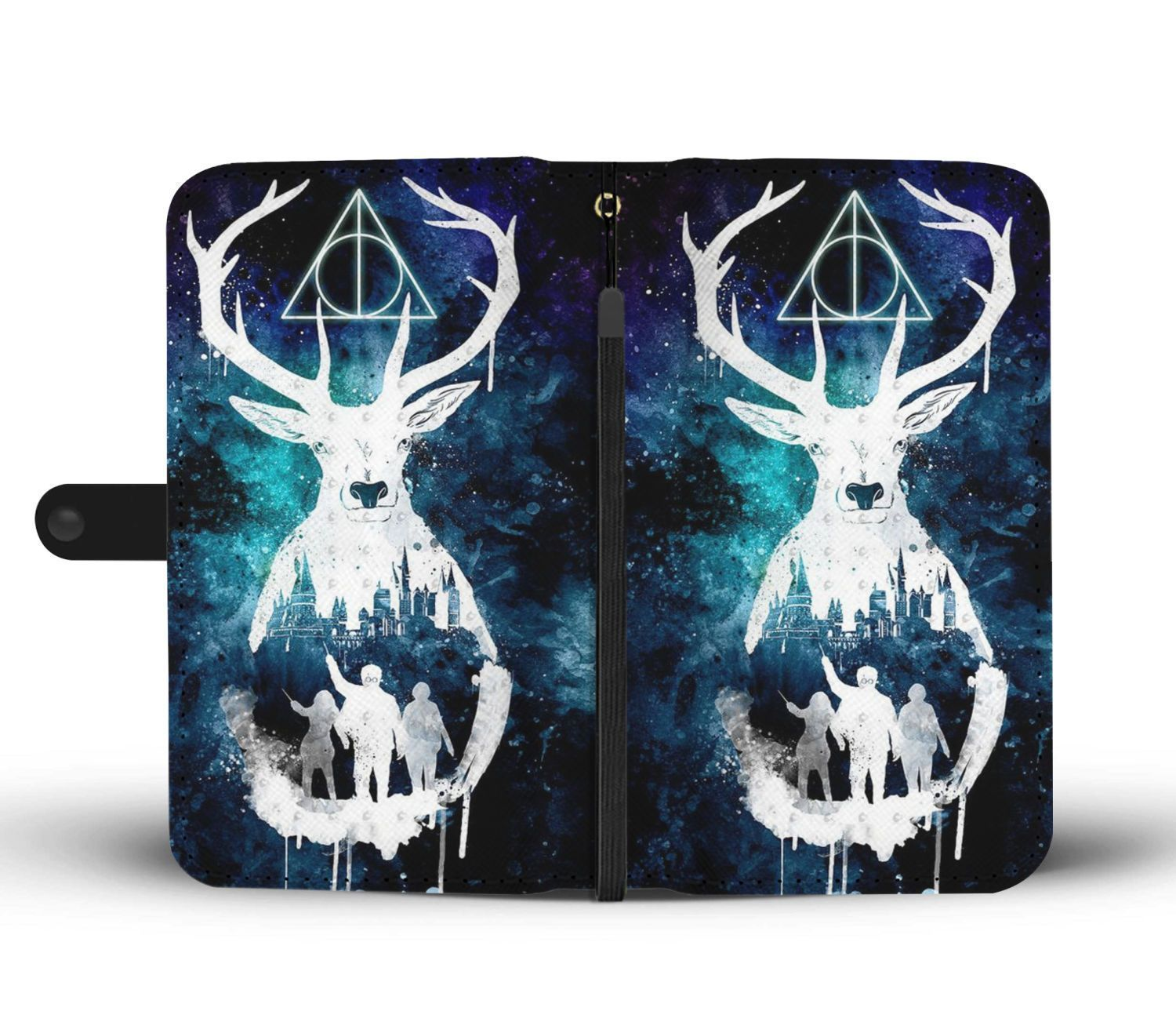 ce053b0f5 Sign of the Deathly Hallows Harry Potter Wallet Phone Case ...