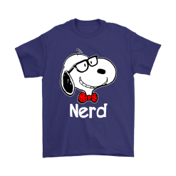 Snoopy Nerd Smart And Cool Snoopy Shirts 16