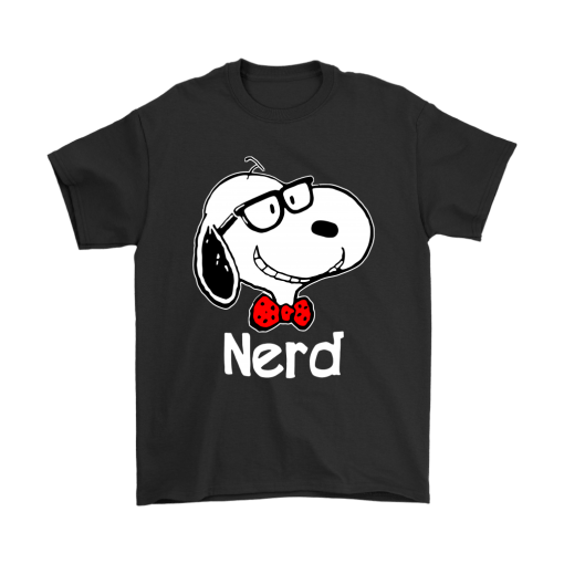 Snoopy Nerd Smart And Cool Snoopy Shirts 1